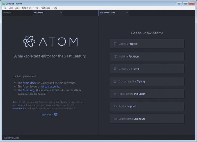Atom hälsar dig välkommen.