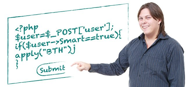 Bobba hjälper till att marknadsföra BTH i utbildningskatalog och webbkatalog med hjälp av PHP-kod.