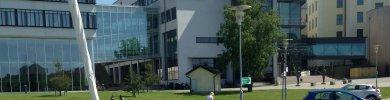 BTH med campus Gräsvik i Karlskrona.