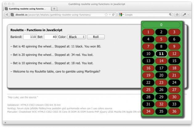 Martingale hade ett system för att vinna på roulette, tror du systemet fungerar?