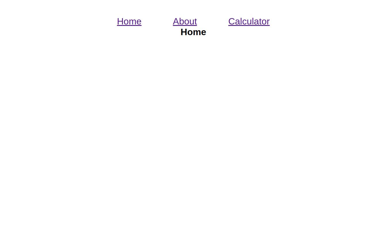 Multipage exempel i Javascript.