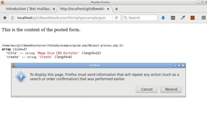 Man får fortfarande problem vid omladdning av processingsidan.
