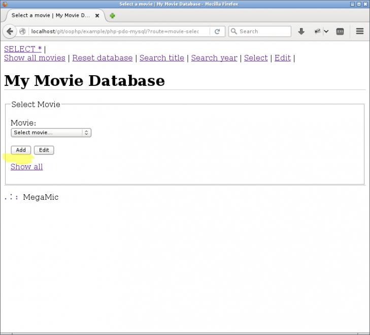 Nu kan man klicka för att lägga till nya filmer.