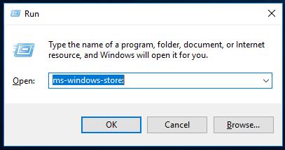 Starta Windows Store för att installera Linux.