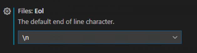 Alltid default radslut till LF.
